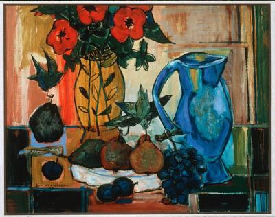 Paul-Vanier BEAULIEU - Fleurs et fruits (1955)