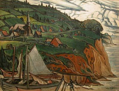 Marc-Aurèle FORTIN - L'Anse aux Gascons (c.1941)