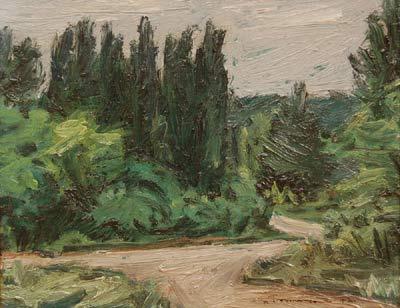 Jacques DE TONNANCOUR - Sans titre (paysage) 1942