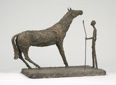 Sylvia LEFKOVITZ - Horse and man