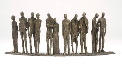 Sylvia LEFKOVITZ - People- 12 figures