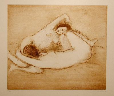 Stanley COSGROVE - Deux Nus (1981)