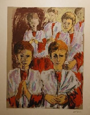 Henri MASSON - Les enfants de choeur (1978)