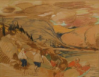 René RICHARD - Portage