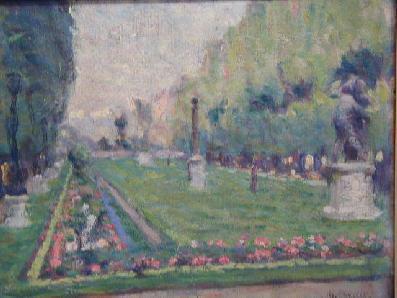 Henri BEAU - Le Jardin du Luxembourg