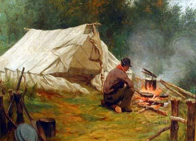 Joseph Marie Charles FRANCHèRE - Campement