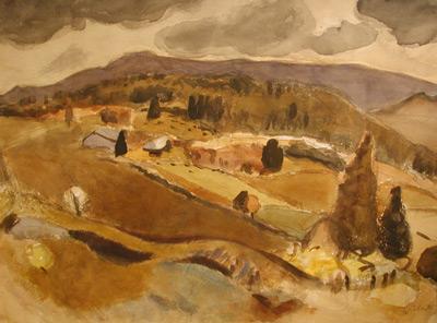 Goodridge ROBERTS - Lake Orford- 1944-