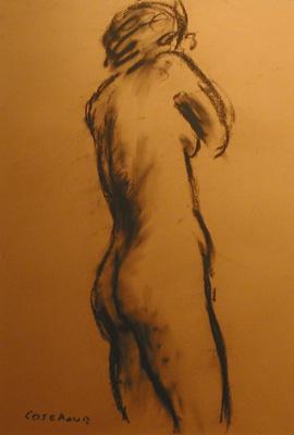 Stanley COSGROVE - Nude study (70's)