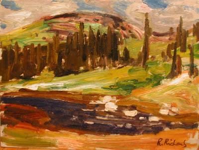René RICHARD - Baie St-Paul (1961)