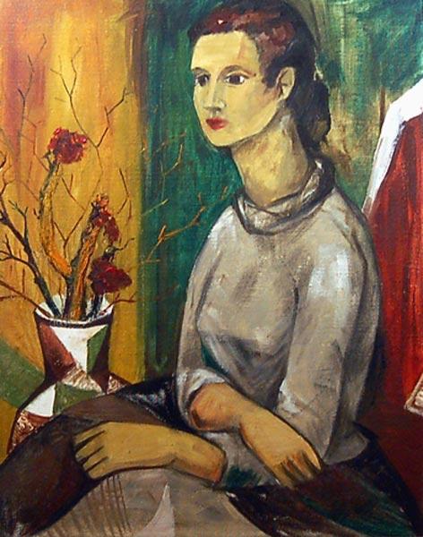 Lise GERVAIS - Autoportrait (1953)
