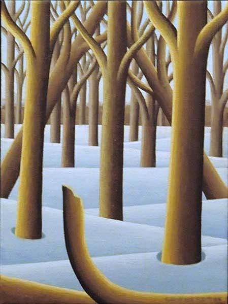 Christian DEBERDT - Étude de forêt (2006)