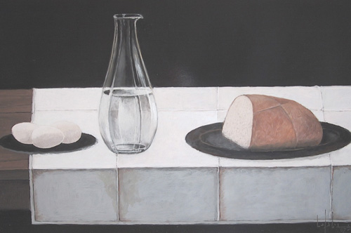 Pierre LEFEBVRE - Still Life with Loaf of Bread