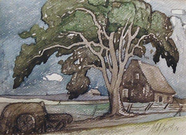 Marc-Aurèle FORTIN - Maison à Ste-Rose (1928)