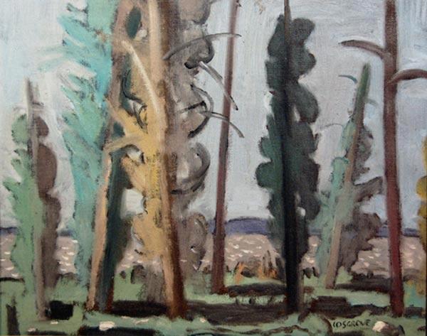 Stanley COSGROVE - Paysage de la Tuque (1967)