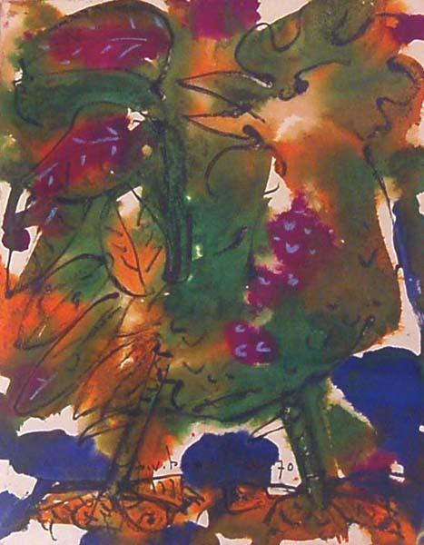 Paul-Vanier BEAULIEU - Coq vert (1970)