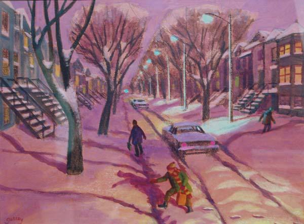Philip SURREY - L'hiver après la tempête (c.1960)