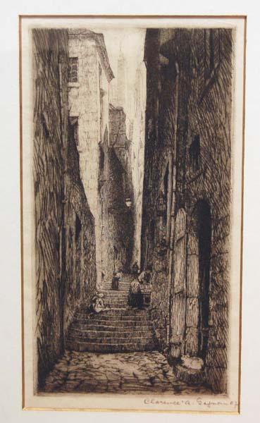 Clarence A. GAGNON - Rue des Petits Degrés, St-Malo (1907)