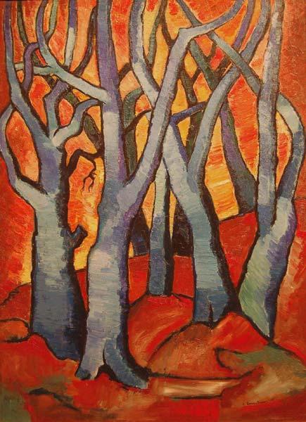 Fritz BRANDTNER - Trees (1938)