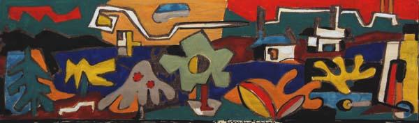 Fritz BRANDTNER - Mountain Lake (c.1945)