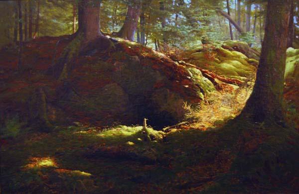 Allan A. EDSON - Au fond des bois (1870)