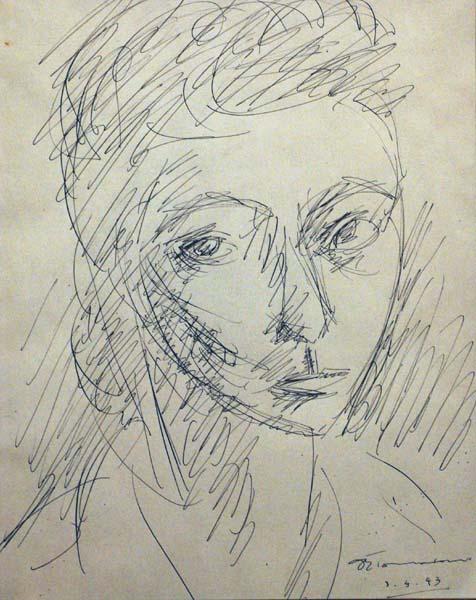 Jacques DE TONNANCOUR - Portrait (1943)