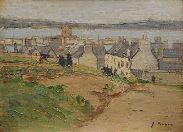 Jean Munro MACLEAN - Québec, la Basse-Ville (c. 1920)