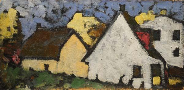 Marc-Aurèle FORTIN - Maisons à Sainte-Rose (1938)