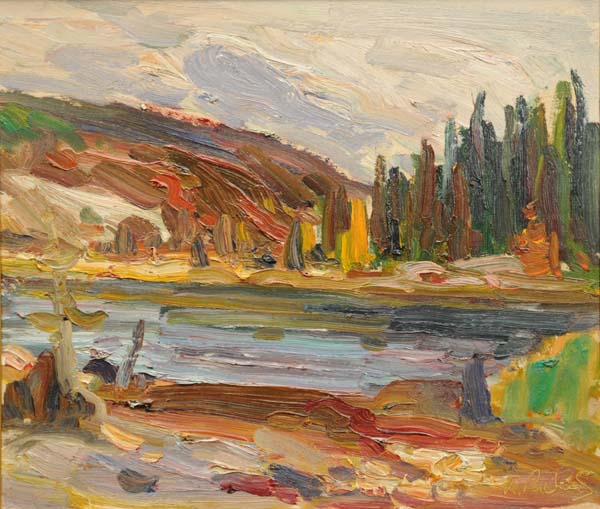 René RICHARD - Sans titre (c. 1955)
