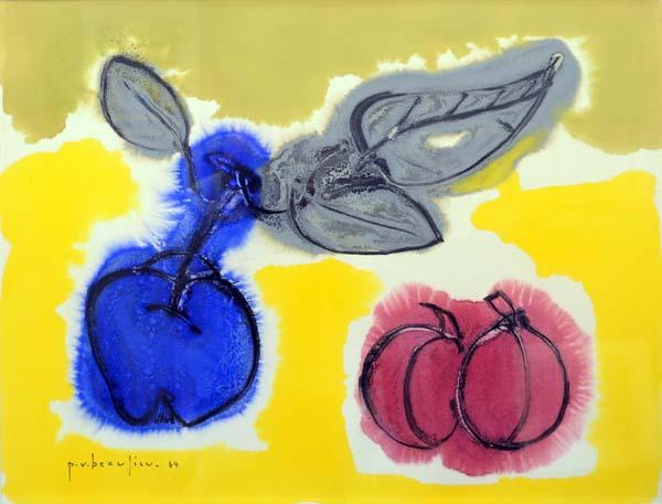Paul-Vanier BEAULIEU - Nature morte aux fruits (1964)