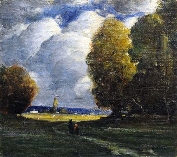 Grands ormes (c. 1916) - Marc-Aurèle Fortin