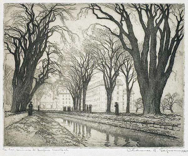 Clarence A. GAGNON - Le lac Séminaire St-Sulpice (1915)