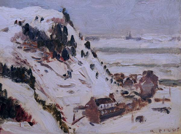 Robert PILOT - Cap Diamant, Québec (c.1930)