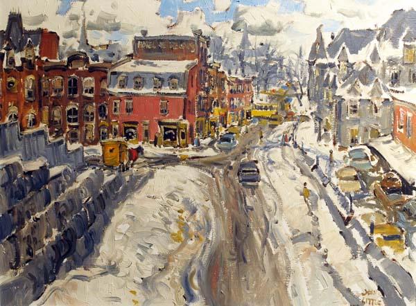 John LITTLE - Place Viger, station Berry, Montréal (1960)