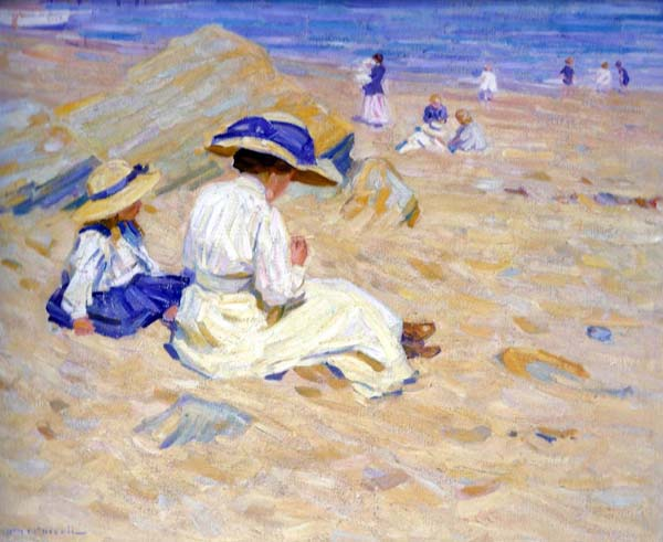 Helen MCNICOLL - On the Beach (1912)
