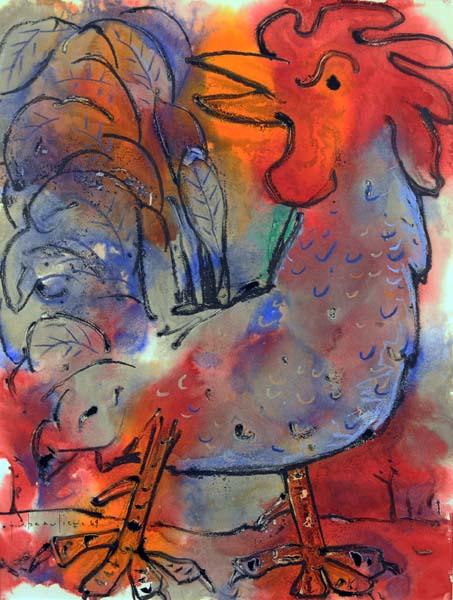 Paul-Vanier BEAULIEU - Coq rouge (1969)
