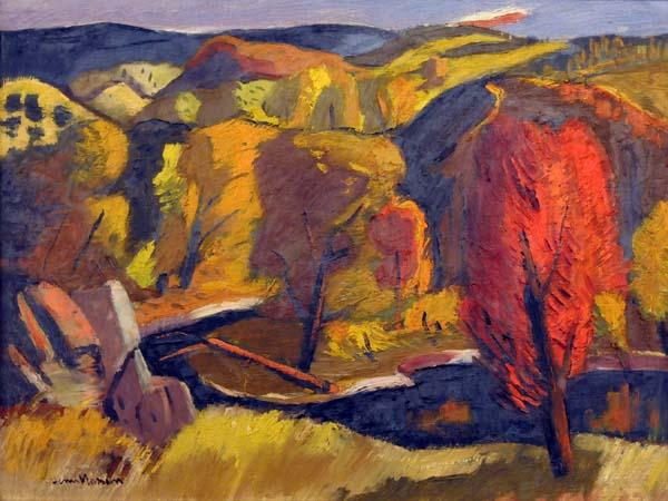 Henri MASSON - Autumn Landscape (c. 1947)