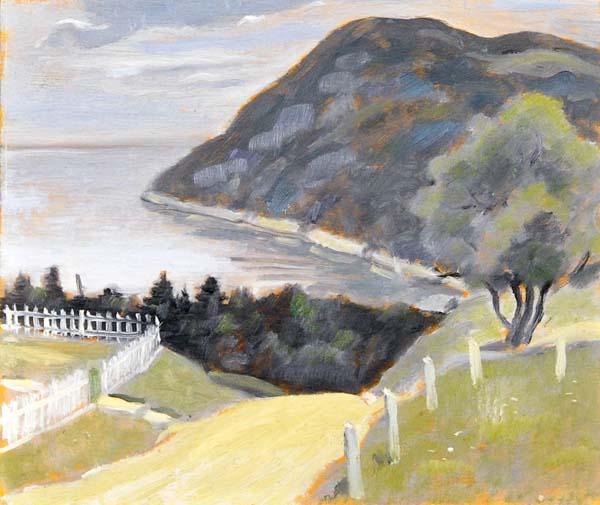 Jean Paul LEMIEUX - Port-au-Persil (c. 1952)