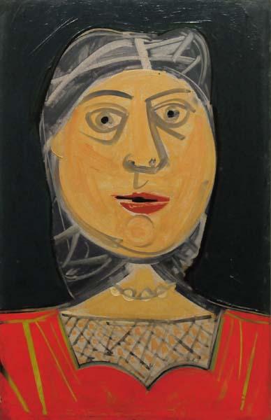 Head (c. 1943) - Jacques de Tonnancour