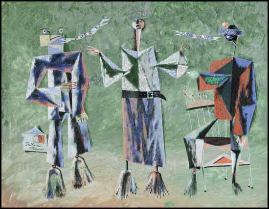 Buse et Arquebuse (c. 1952) - Jean Dallaire