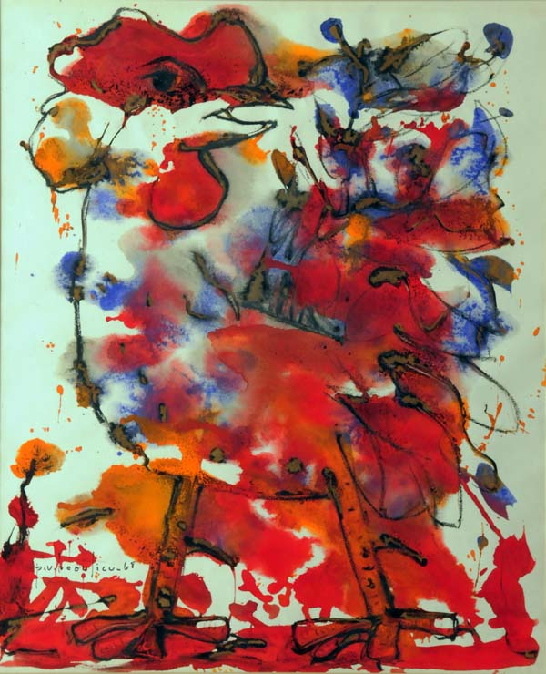Paul-Vanier BEAULIEU - Coq rouge (1968)