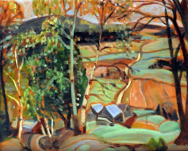 Anne SAVAGE - Lake Wonish, Laurentians (c. 1940)