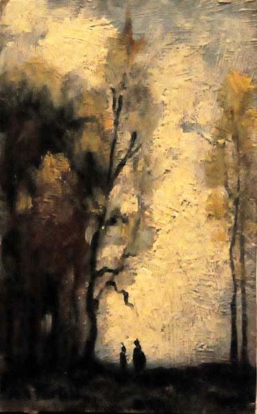 Marc-Aurèle FORTIN - Promenade sous les arbres (c. 1918)