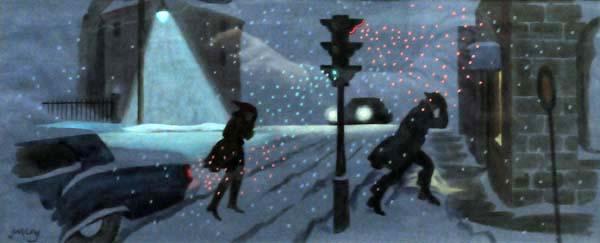 Philip SURREY - Scène d'hiver (1968)