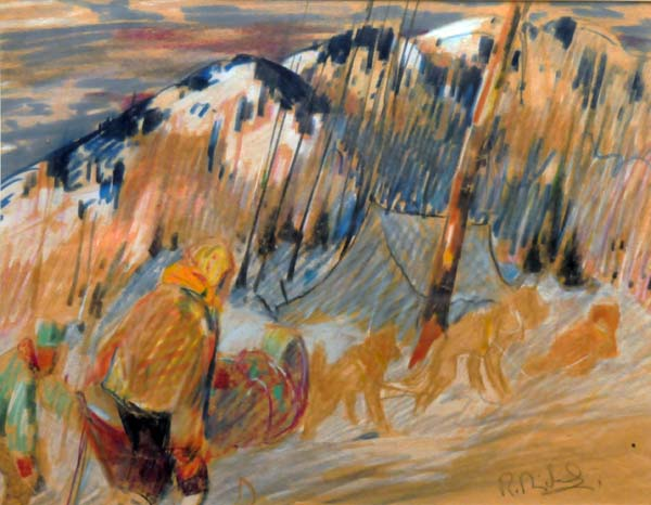 René RICHARD - Scène du Nord (c. 1940)