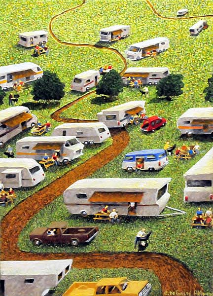 Claude DE GASPé ALLEYN - Camping-Caravane