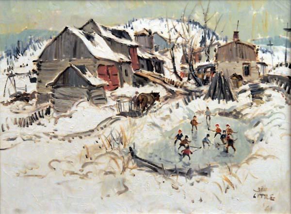 The Hockey Game (1961) - John Little
