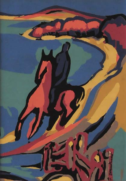 Fritz BRANDTNER - Rider (c. 1940)
