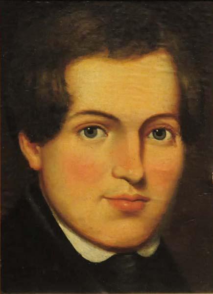 Théophile HAMEL - Portrait de J.M. Tessier