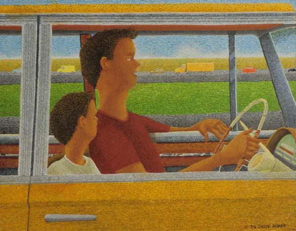 Claude DE GASPé ALLEYN - Highway